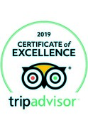 Kerswell Farmhouse B&B has a 5 Star rating with Trip Advisor and a Certificate of Excellence