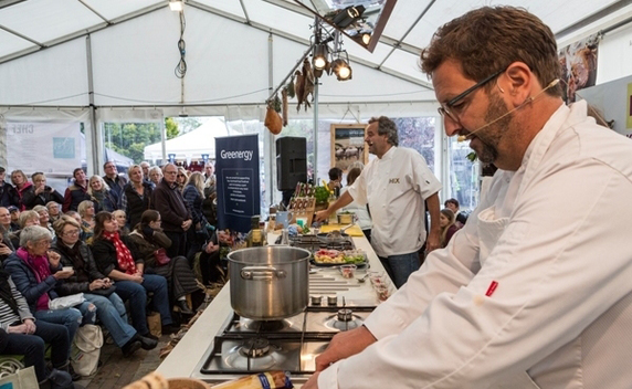 Kerswell Farmhouse B&B is only 15 minutes from Dartmouth where an annual Food Festival is held every October featuring celebrity chefs such as Mitch Tonks
